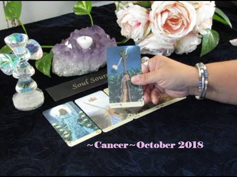 ~Cancer~🔥 An Instant Spark! 🔥End of October 2018 Cancer Tarot Reading