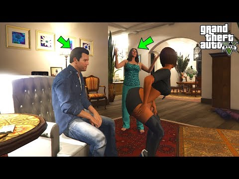 What Happens if Michael Brings a Girl Home in GTA 5? (Amanda Catches Them)