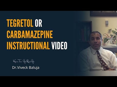 Tegretol or Carbamazepine Instructional Video