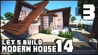 Minecraft Lets Build: Modern House 14 - Part 3 + Download Show your support & hit that LIKE button if you enjoyed! Don't forget to subscribe ► http://goo.gl/...