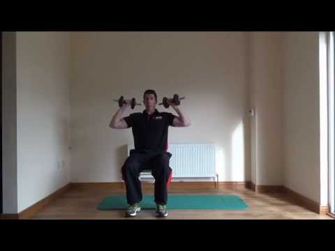 In Home Training Part 2 Shoulders & Legs