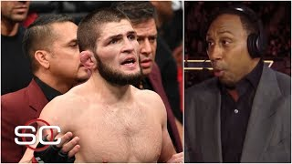 Video Stephen A. reacts to Khabib Nurmagomedov attacking Conor McGregor's team at UFC 229 | SportsCenter MP3, 3GP, MP4, WEBM, AVI, FLV Oktober 2018