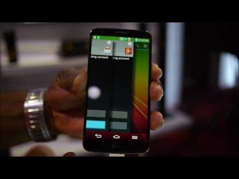 LG G2 QSlide and Slide Aside features