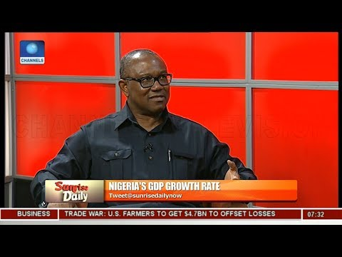 FG Pushing More Nigerians Into Poverty - Peter Obi Pt 3 | Sunrise Daily |