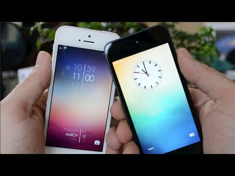 The 10 Best Lockscreen Themes Of 2013 For iPhone & iPod Touch