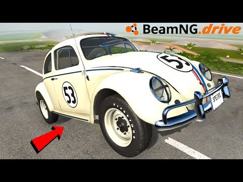 HERBIE THE SELF HEALING CAR (HUGE UPDATE) - BeamNG Drive