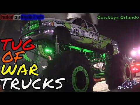TRUCKS GONE WILD TUG OF WAR 2016 - Cowboys Orlando