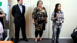 Student Speech - Harmony Day 2012 - Cherry Quines - Part 1