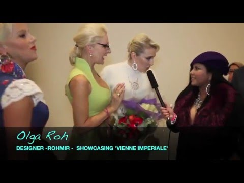 ART IN FUSION TV – ROHMIR AW16 – OLGA ROH INTERVIEW