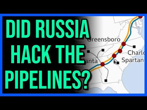 Did Russia Hack The U.S. Gas Pipeline...?