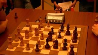 Hikaru Nakamura  vs Maxime Vachier-Lagrave, World Blitz Championship, Moscow, 17 Nov 2010
