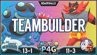 SEMIFINALS TEAMBUILDER! Bronx Beartics v Mewtwolouse FC (ProfesseurFX)   Pokemon Ultra Sun & Moon! by PokeaimMD