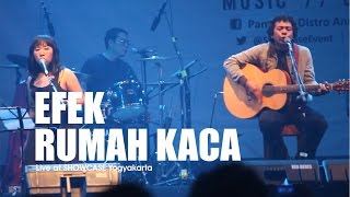 [HD] Efek Rumah Kaca - Mosi Tidak Percaya (Live at SHOWCASE Yogyakarta, Februari 2017)
