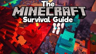 Nether Exhibit & Bedrock Breaking! • The Minecraft Survival Guide (Tutorial Lets Play) [Part 352]