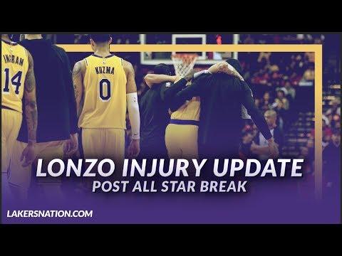 Video: Lakers NewsFeed: Lonzo Ball Injury Update (Post All-Star Break)