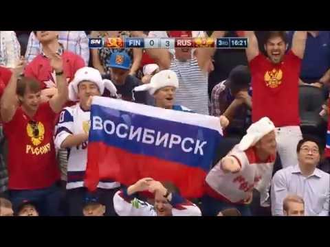 Финляндия 0-3 Россия. Кубок Мира 2016. Обзор матча. Все голы (видео)
