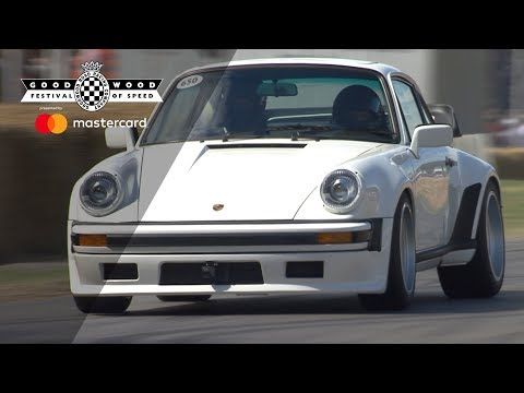 Porsche 930 TAG Turbo en Goodwood