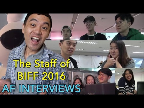 AF interviews the staff at BIFF 2016 about Korean pop culture