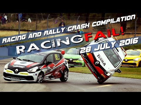 Racing and Rally Crash Compilation Week 28 July 2016