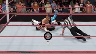 WWE NO MERCY Daniel Charles vs Nero Styles IC Title
