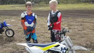 8. 2017 Husqvarna tc50 review by c20 mx and Booth Bros. Mx