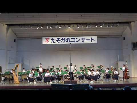 大阪市立真住中学校吹奏楽部 たそがれコンサート2017/7/21[完全版]
