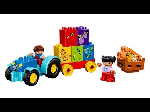 Лего Дупло Мой первый трактор. Lego Duplo My First Tractor