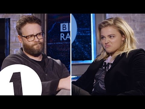 Seth Rogen and Chlo  Grace Moretz Insult Each