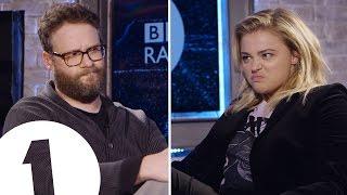 Video Seth Rogen & Chloë Grace Moretz Insult Each Other | CONTAINS STRONG LANGUAGE! MP3, 3GP, MP4, WEBM, AVI, FLV Agustus 2019