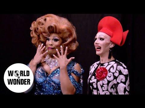 """UNTUCKED: RuPaul's Drag Race Season 9 Episode 8 """"RuPaul Roast"""""""