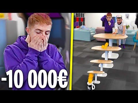 CARTE BLEU TRICKS CHALLENGE #4 ! (on a fait un tricks a 10 000€, vraiment)