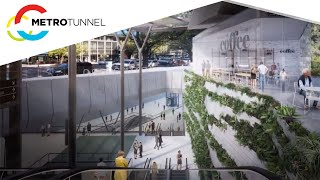 Metro Tunnel station images