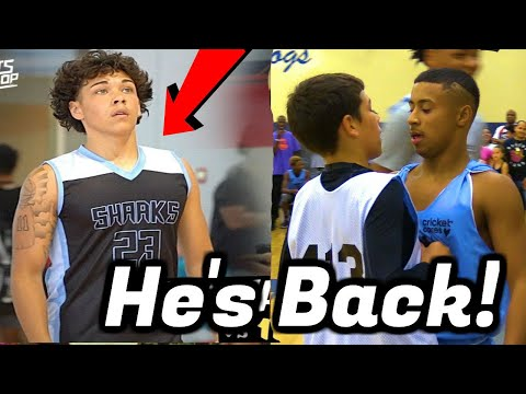 Julian Newman Tried to BULLY HIM | Jaythan Bosch is Back and Better!