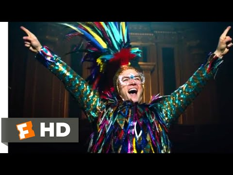 Rocketman (2019) - Pinball Wizard Scene (5/10) | Movieclips
