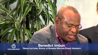 The panel discusses the past successes, and challenges ahead for Papua New Guinea. Panelists include Cecilia Nembou,...