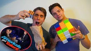 Video GENIUS Rubik's Cube Magic Tricks w/ Steven Brundage *America's Got Talent Magician* MP3, 3GP, MP4, WEBM, AVI, FLV Mei 2019