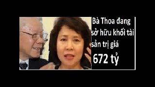 Bản sao của Trọng lú chết vì Hồ Thị Kim Thoa và khối tài sản 672 tỷ của bà này
