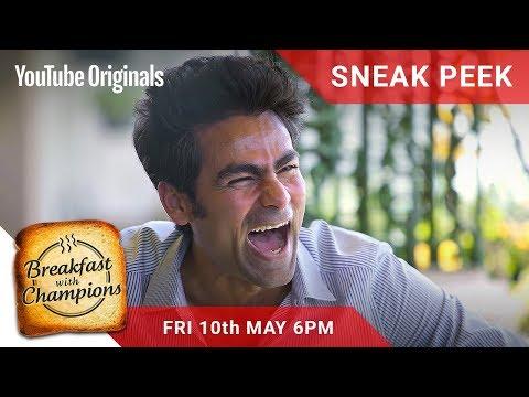 #BreakfastwithChampions Episode 3 Sneak Peek | Mohammad Kaif