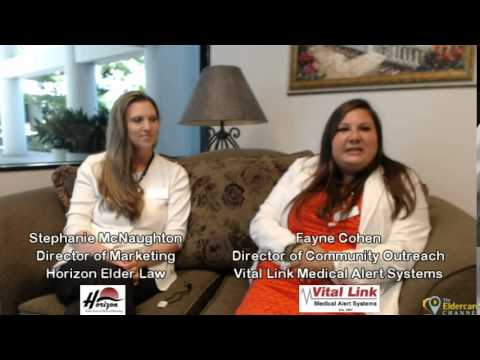 Vital Link Medical Alert Systems on The Contra Costa Eldercare Channel