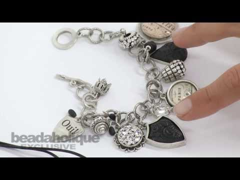 How to Turn Leftover Crystal Clay into Beads, Dangles, and Accents by Becky Nunn