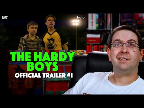 REACTION! The Hardy Boys Trailer #1 -Hulu Movie 2020
