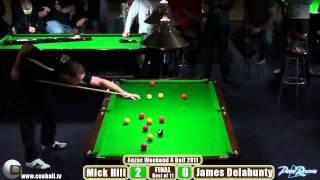 Anzac Weekend 8 Ball 2011 Final Mick Hill V James Delahunty