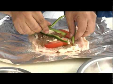 ASADOR DE TOMMY-filete de pescado empapelado