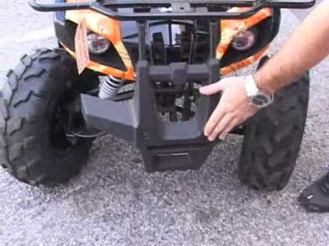 Coolster 125cc kids atv utility 4 wheeler free video and for High style motoring atv