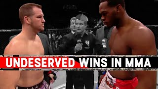 Video The Most Undeserved Wins In MMA MP3, 3GP, MP4, WEBM, AVI, FLV Februari 2019