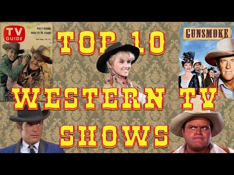 Top Ten Western TV Shows
