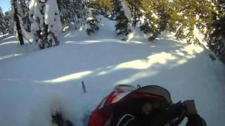 6. Next to a Meadow on Polaris RMK 900