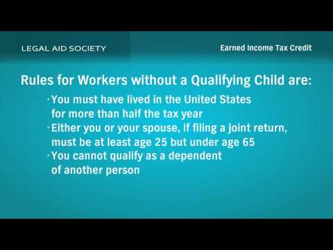Tax Credit - This educational video provides information on the Earned Income Tax Credit program as well as the Volunteer Income Tax Assistance program. This video also l...