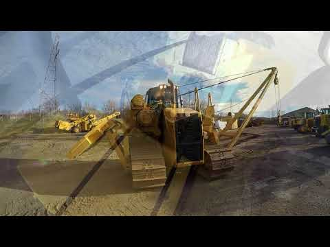 CATERPILLAR TRACTEURS POSE-CANALISATIONS PL61 equipment video 1lDYPo-fSlA