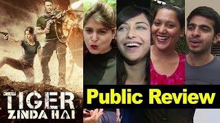 Tiger Zinda Hai Public Review | Salman Khan, Katrina Kaif | First Day First Show